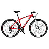 "Claud Butler Cape Wrath 3 21"" Red Performance Mountain Bike"