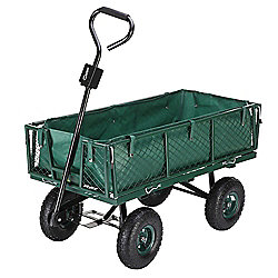 Palm Springs Heavy Duty Garden Trolley / Wheelbarrow