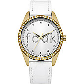 French Connection Ladies Stone Set Watch - FC1009WG
