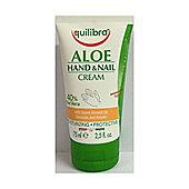 Equilibra Aloe Vera Hand & Nail Cream 75ml