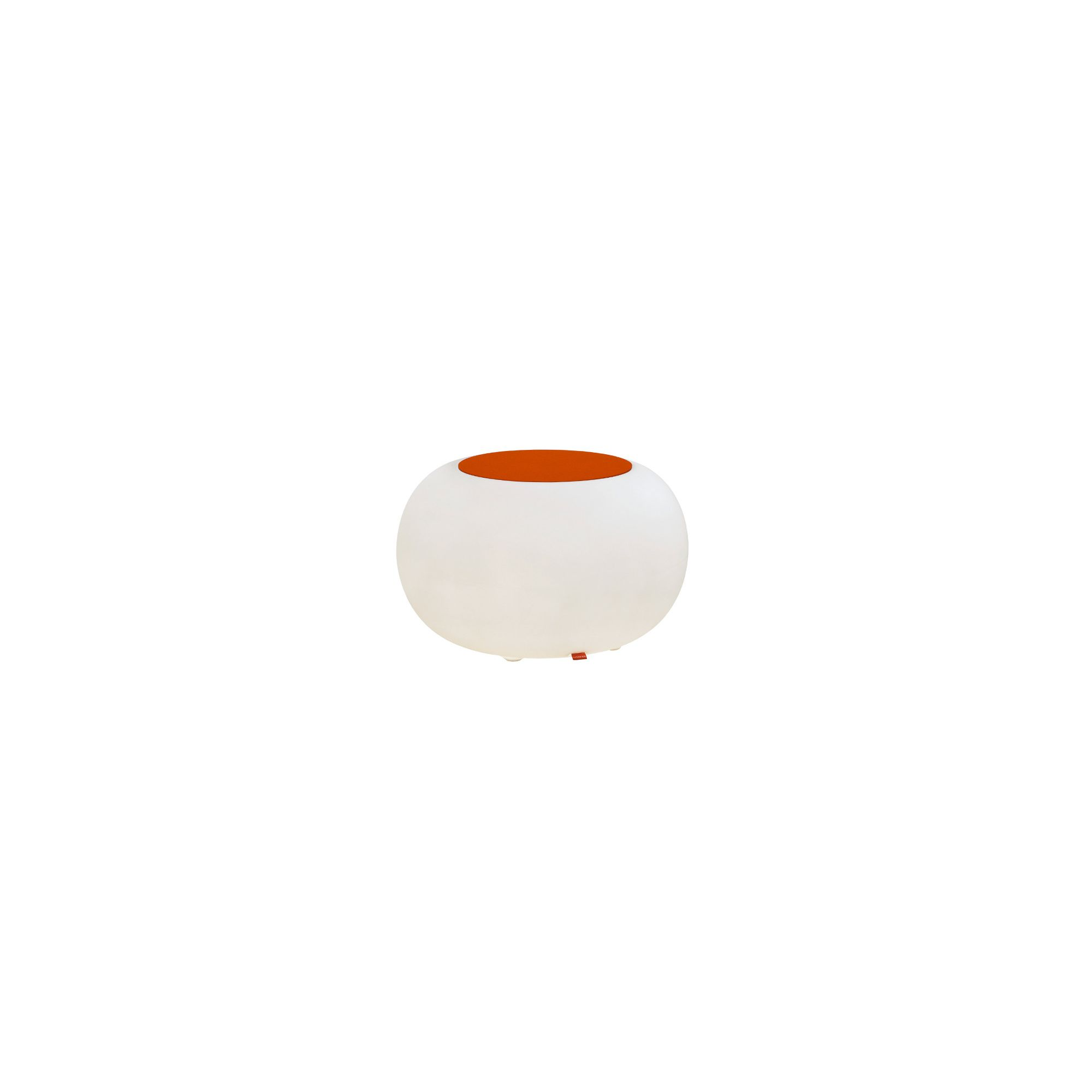 Moree Bubble Indoor Table - Felt Cushion Orange at Tesco Direct