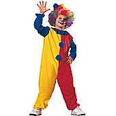 Child Simple Clown Costume Large