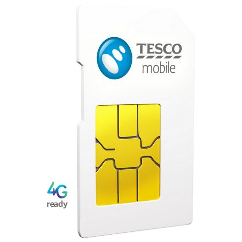 Tesco Mobile Pay as you go SIM Pack