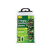 Gardman 09128 Hanging Strawberry Planter X2