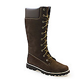 Timberland Asphalt Trail CLS Tall Kids Brown Boots - 5.5