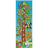 One Two Tree Number Puzzle Poster