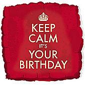 18' Keep Calm Its Your Birthday (each)