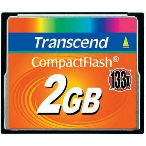 Transcend 2GB 133x compact Flash Memory Card