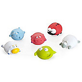 BabyMoov Bath Friends Bath Toys - Farm Animals