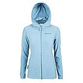 Hebridean Melange Womens Fleece - Blue