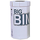 Acorn Big Bin Flat-packed Recycled Board Material 450x900mm 160 Litres Ref 142958 [Pack 5]