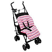 Clair De Lune Pushchair Liner Fun  funky Pink