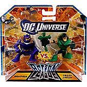 DC Universe Action League - Prometheus vs. Green Arrow Figures