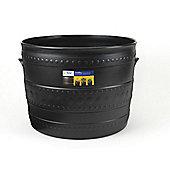 Stewart 2558036 Smithy Patio Tub Black 35cm