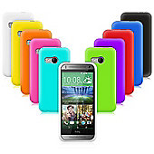 Cennett HTC M8 Mini - Silicone Gel Case 10 in 1