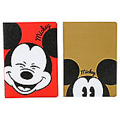 Mickey Mouse A5 Exercise Books 2 Pack