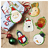Tesco Chilli Design Christmas Gift Tags, 6 Pack