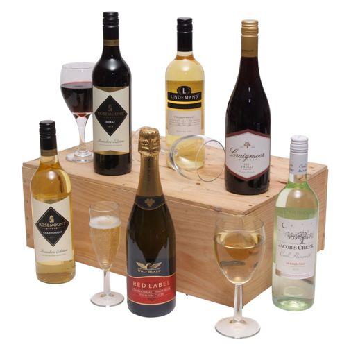 Six Bottles Australian Mixed Wine