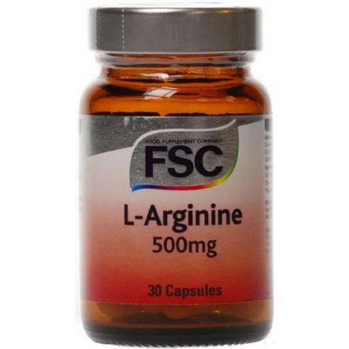 FSC L-Arginine 30 Capsules 500mg