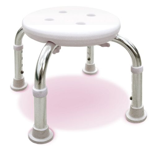 Lifemax Limited Round Bathroom Stool
