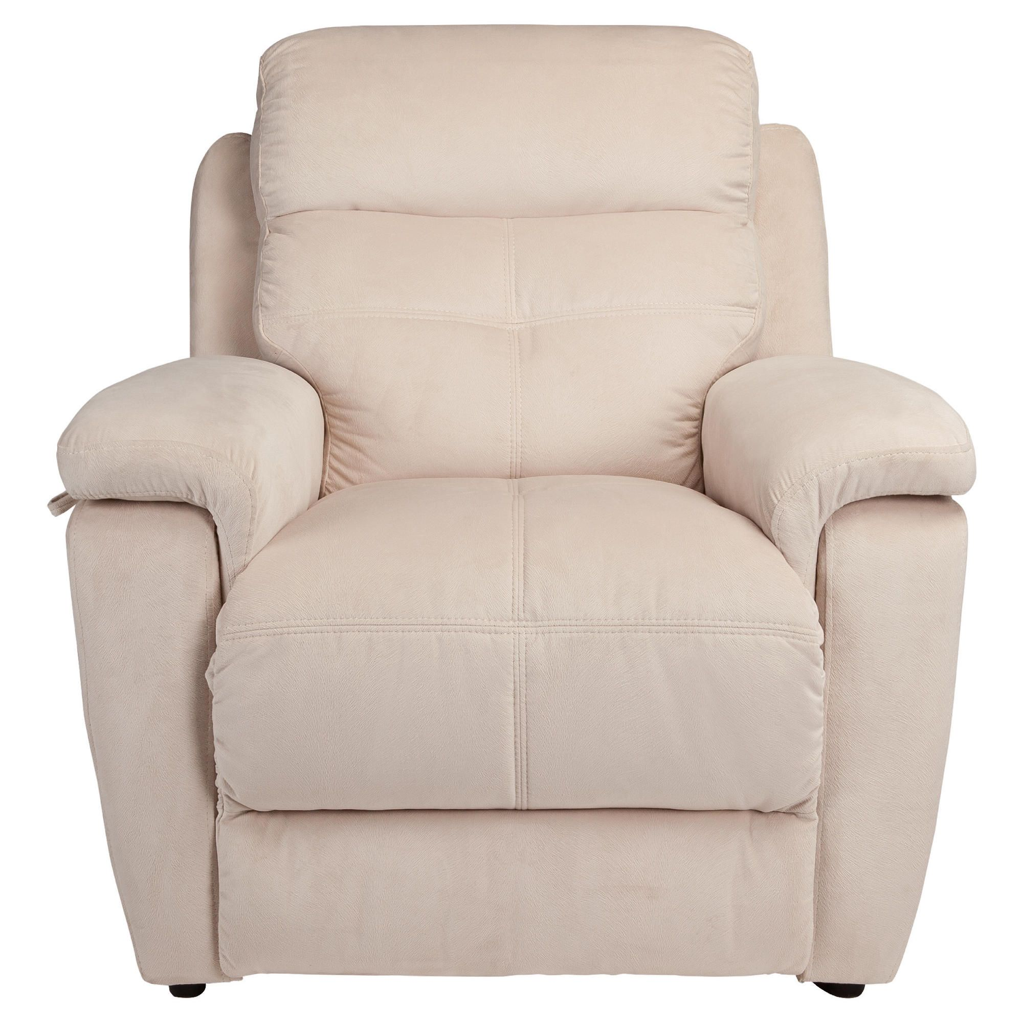 Fabric Power Lift Recliner Chair Natural at Tesco Direct