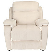 Fabric Power Lift Recliner Chair Natural