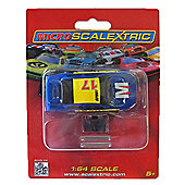 Micro Scalextric Micro GT Car Blue