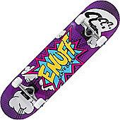 Enuff Pow Purple 7.75inch Complete Skateboard