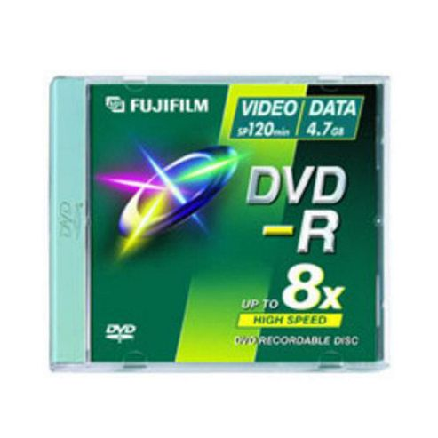 Fujifilm 047594 8 cm 1.4 GB 4x DVD-R 3-pack Jewel Case