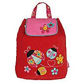 Children's Backpack - Patterned Ladybird