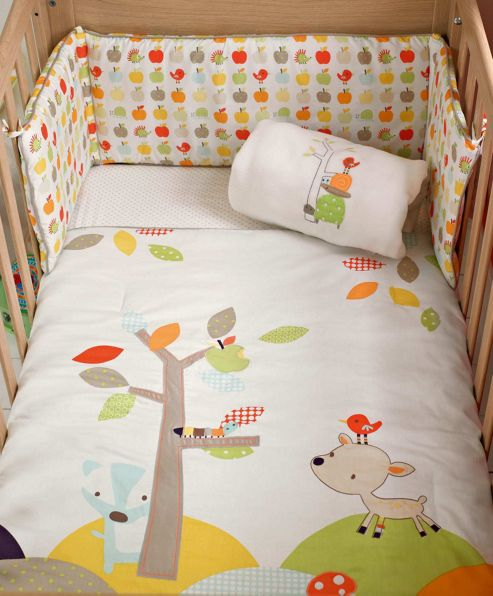 Mamas & Papas - Rosie & Rex - 4 Piece Bedding Set
