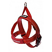 Ezydog Quick Fit Dog Harness Red XL