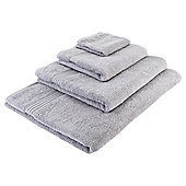 Tesco Hygro 100% Cotton  Towel, - Silver
