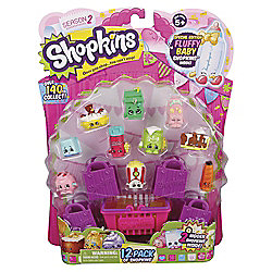 Shopkins Pack of 12 Minifigures