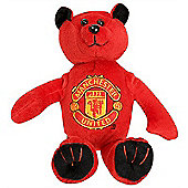 Manchester United Beanie Teddy Bear Red