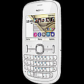 Nokia Asha 201 White