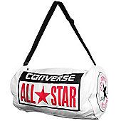Converse All Star Legacy Duffel Canvas Shoulder Rucksack Bag White