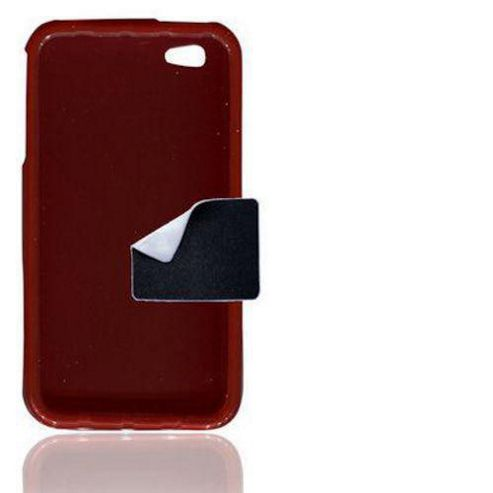 U-bop gSHELL Tough All-Body Case Smoke Red - For Apple iPhone 4, 4S S