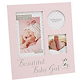 Baby Collage Frame, Pink