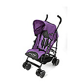 Your Baby - California Baby Buggy/Pushchair Purple & Parasol Black.