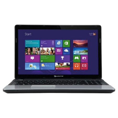 Packard Bell EasyNote TE 15.6 inch Intel Celeron Dual-Core, 4GB RAM, 500GB, Windows 8, Black Laptop