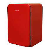 Russell Hobbs RHRETUCLF55R, Retro Under Counter Larder Fridge, Red