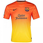 2012-13 Barcelona Nike Away Football Shirt (Kids) - Orange