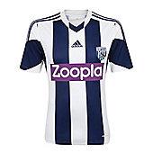2013-14 West Brom Adidas Home Football Shirt - White