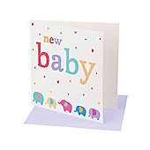 Mothercare Elephant Card