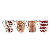 Living By Christiane Lemieux Avery Set 4 Mugs