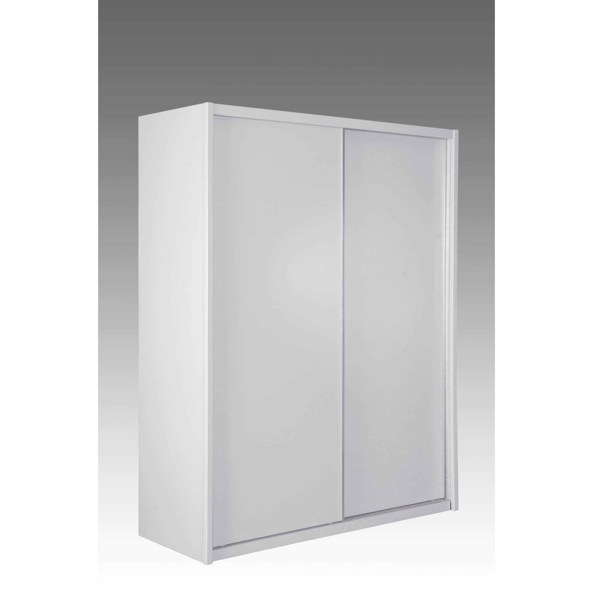 Elements Louisa 2 Door Sliding Wardrobe with Gloss Doors at Tesco Direct