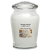 Yankee Candle Large Jar White Linen & Lace