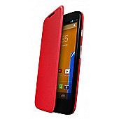 Moto G Flip Door Red