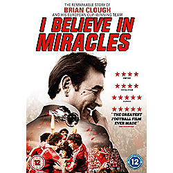 Brian Clough I Believe in Miracles DVD